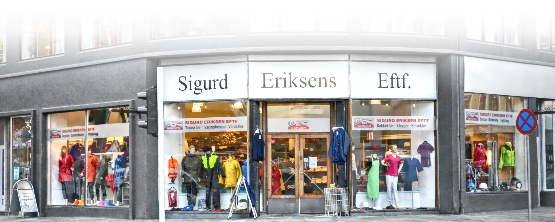 10651be3a Eriksens Sigurd Eftf i Bergen – Yrkesklær – Kokkeklær – Servitørklær ...