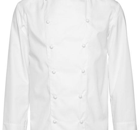 Kokkejakke Segers 4030 hvit polyesterbomull - Exclusive